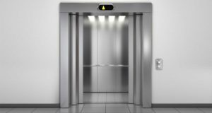 Open elevator repaired by Pincus Elevators
